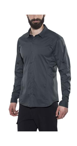 Arc'teryx Elaho overhemd en blouse lange mouwen grijs